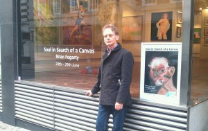Brian Fogarty at The Gallery in Cork Street - London