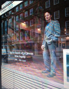 Portrait of the Artist as a Mannequin in Search of a Shop Window